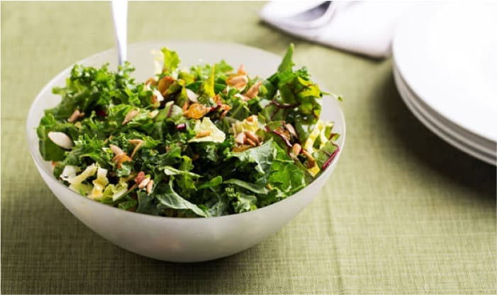 Asian Greens Ribbon Salad