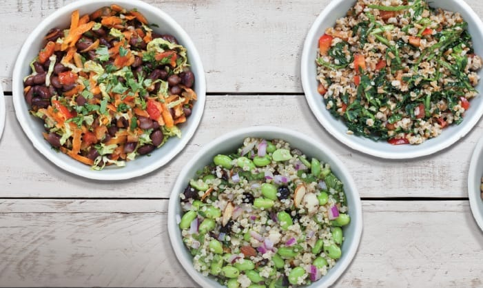 Basic Grain Salad 5 Ways