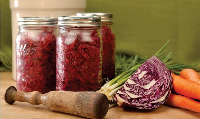 Power-to-the Purple Sauerkraut