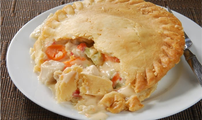 Reinvented Turkey Pot Pie