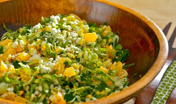 Sweet Citrus Barley Salad