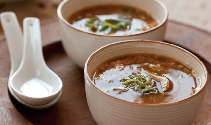 Traditional Hot and Sour Soup